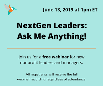 NextGen Leaders: Ask Me Anything! (Anglais seulement)  13 juin 2019