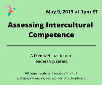 Assessing Intercultural Competence (Anglais seulement)  9 mai 2019
